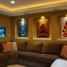 Minneapolis Media Room Design, Pictures, Remodel, Decor and Ideas - page 2
