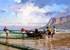 Resultado de imagem para roelof rossouw South African Art, Watercolour Painting, Coast, Landscape, Artwork, Inspiring Art, Oil Paintings, Beautiful, Google Search