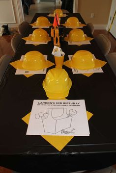Construction party Birthday Party Ideas | Photo 8 of 14 | Catch My Party
