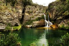 Minas Gerais - Cachoeira na Serra da Canastra