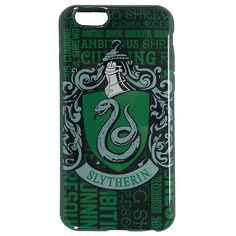Harry Potter Slytherin iPhone 6/6s Case Hot Topic ($8.75) ❤ liked on Polyvore featuring accessories, tech accessories and iphone