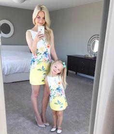 we lack in summer suntans, we make up for in sunny personalities and subpar IG captions. Mom Daughter Matching Outfits, Mommy And Me Outfits, Family Outfits, Kids Outfits, Mom Dress, Baby Dress, Fashion Kids, Mother Daughter Fashion, Cute Maternity Outfits