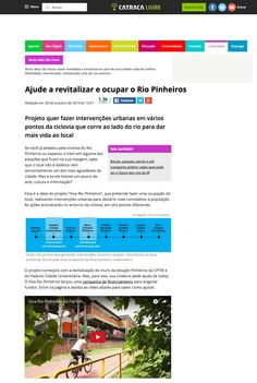 Help revitalize and occupy the Pinheiros River