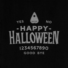 Halloween Horror, Happy Halloween, American Logo, Satan, Ouija, Vintage Art, Typography, Sketches, Graphic Design