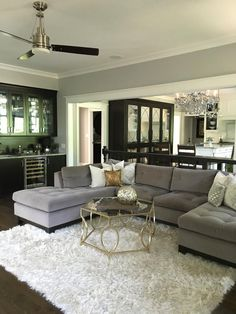 Family Room Ideas. This room was completely transformed when we took out a…