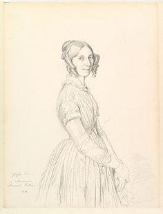 Jean-Auguste-Dominique Ingres, Madame Armand Bertin, née Marie-Anne-Cécile Dollfuss, 1843