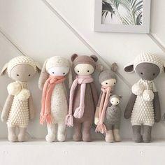 Crochet stuffed animal lamb or sheep doll as a newborn or child gift Handgemachtes Baby, Baby Toys, Crochet Patterns Amigurumi, Crochet Dolls, Handmade Baby, Handmade Toys, Crotchet Animals, Doll Display, Newborn Crochet