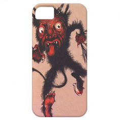 Krampus iPhone 5 Case