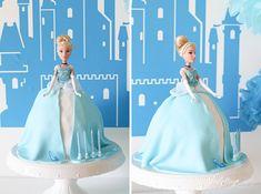 Einfache Anleitung für eine schnelle Torte mit Barbie Puppe zum Geburtstag Barbie Ferreira, Barbie Cake, Elsa Anna, Cinderella, Barbie Clothes, Diy For Kids, Disney Characters, Fictional Characters, Disney Princess