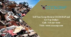 Scrap Recycling, Recycling Services, Metal Prices, Waste Paper, Earn More Money, Long Island, Yards, The Good Place, Cards Against Humanity