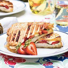 strawberry turkey brie panini more sandwiches wraps brie panini panini ...