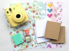 A Day In My Life Journal Using Polaroid Instax Photos