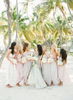 seaside pastels Photography by KT Merry Photography / ktmerry.com, Bridesmaid Dresses by http://www.etsy.com/shop/ArmoursansAnguish