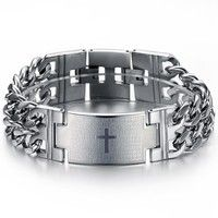 I think you'll like Stainless Steel  Men Bracelet GS620. Add it to your wishlist!  http://www.wish.com/c/5394694eb9ee8430994ac9eb