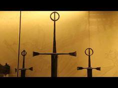 Irish longsword Irish Costumes, Irish Images, Arming Sword, Irish Clothing, Irish Warrior, Irish Rings, Effigy, Stone Carving, Contemporary Artists