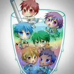 Figures only Akashi isn't in the drink. I hate Akashi. Sorry.