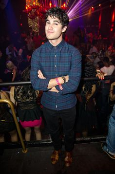 """Also at TAO, """"Glee"""" star Darren Criss and """"Pretty Little Liars"""" starlets Lucy Hale and Shay Mitchell were spotted at a VIP table. The group danced along with friends to the sounds of DJ Ross One"""