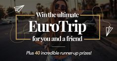 Win an All Expenses Paid Euro Trip Worldwide Giveaway!
