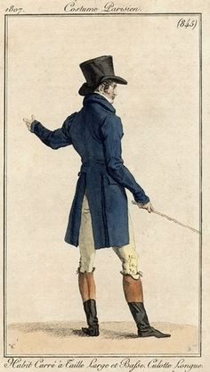 Men's ensemble, 1807.