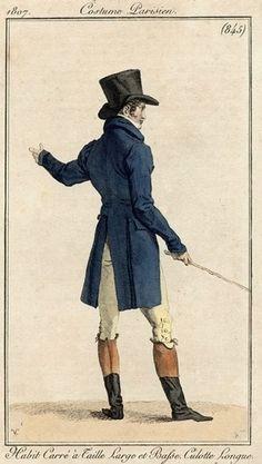 Men's ensemble, 1807