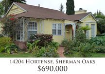 Charming remodeled home on Hortense in Sherman Oaks.