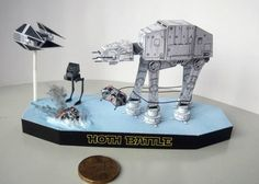 Star Wars - All Terrain Armored Transport (AT-AT) Walker Diorama Free Papercraft Download This papercraft is an AT-AT (All Terrain Armored Transport) Walker diorama, based on the Star Wars series, the papercraft is created by PR Models, and the scale is in 1:250.sci
