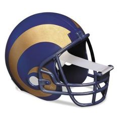 ATTENTION sports fans! Tackle your projects with the help from this St. Louis Rams NFL football helmet tape dispenser from 3M for your home and office. A great gift idea!