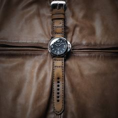 Fino 2 serie leather strap, price $116.99 include buckle, can make for any watches. Email to gunny.straps@gmail.com to order. Watches, Cool Stuff, Leather, Handmade, Accessories, Style, Bracelets, Swag, Hand Made