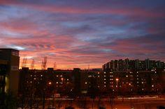 neuperlach sunset by ofr, via Flickr