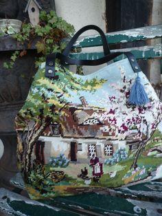 Bocage Normand tote bag par Labrocantedely sur Etsy