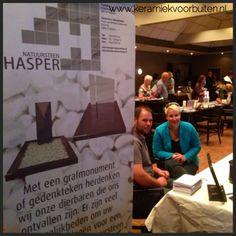Hasper Natuursteen nam ook deel aan de uitvaart beurs in Lienden 2014