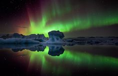 Aurora Northern Lights in Iceland