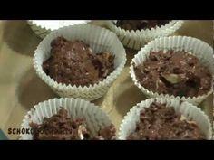 Double Chocolate Muffin Rezept - doppelt schokoladig - Schokoladen-Muffins mit zwei Sorten Schokolade, einfach lecker!