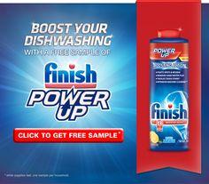 Free Sample of Finish Power Up