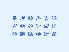 Custom icon set created for Quickcoin, an app that makes it easy to send Bitcoins to friends and build the Bitcoin community.