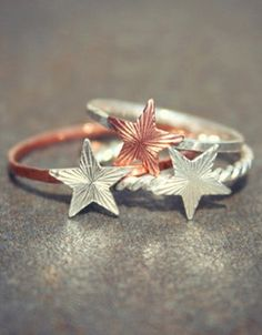 Stacking Star Rings