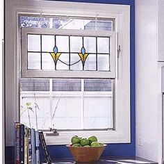 idea for kitchen window    Photographs: Ted Morrison | thisoldhouse.com | from 3 Kitchens 3 Budgets