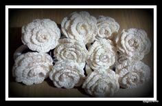 Carla Artesanato: Argola para guardanapo em croche