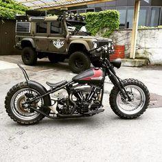 Harley-Davidson Panhead by Bobber Garage