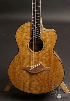 Lowden Custom S-35Mc Fan Fret Guitar