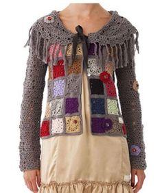 j'aime bien . j'ai débuté une série de granny simples avec de la Flowers Bed .Peut étre va t'elle devenir une future veste pour moi .