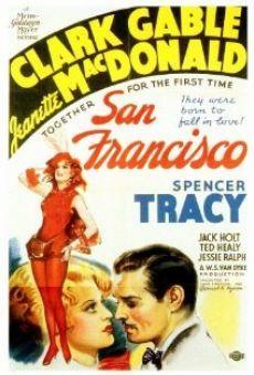 SAN FRANCISCO (1936) - Spencer Tracy Clark Gable movie