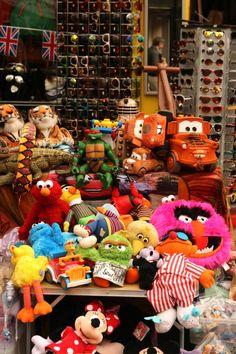 Brick Lane London - soft toys