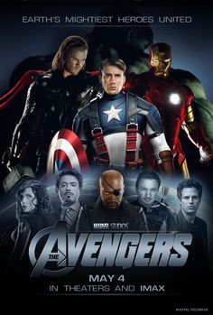 The Avengers!  Much of this movie was filmed here in Cleveland & Northeast Ohio.  Plus it's an exciting and good movie.