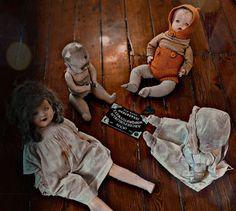 Creepy Dolls, Painting, Art, Art Background, Painting Art, Kunst, Paintings, Performing Arts, Painted Canvas