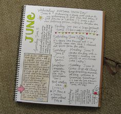 Daily Journal Project, page 24, by Gina Sekelsky Studio