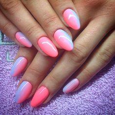 by Natalia Kondraciuk Indigo Nails Lab - Find more Inspiration at www.indigo-nails.com #Nail #Nailsart #Mani #Nails #ombre