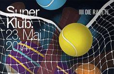German studio Unfun creates colourfully slick posters for Nuremberg dance club