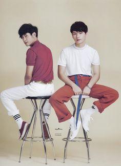 1 Y 2, Cute Gay Couples, Thai Drama, Fashion Couple, Best Couple, Fujoshi, Asian Boys, My Eyes, Movie Stars
