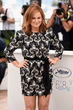 "Actress Amy Poehler attends the ""Inside Out"" Photocall during the 68th annual Cannes Film Festival on May 18, 2015 in Cannes, France."